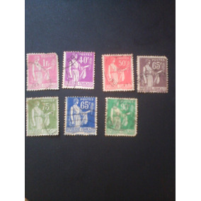 Muito Raros Da França, 1932, Os 7 Por 9.200,00