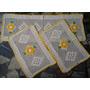 Kit Cozinha:1 Passadeira 45cmx118cm + 2 Tapetes 45cm X 63cm