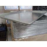 Bandeja De Panaderia Aluminio Liso 1mm Reforzada De 45x65