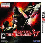 Resident Evil Mercenaries Nintendo 3ds - 3ds Fisico