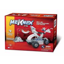 Meknex K75 Juego Tipo Mecano 201 Piezas Con Herramientas