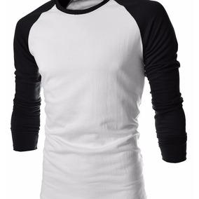 Camisa Raglan Masculina 100% Algodão - Excelente Qualidade!
