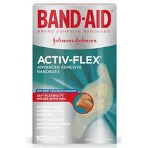 Band Aid Activ-flex Para Articulações 10 Un - Original Eua