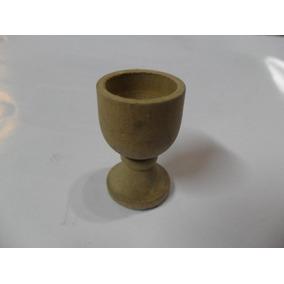 Antiguo Copon Vaso Copa Copita Madera Caliz Miniatura