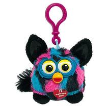 Pelúcia Furby Boom Falante 9cm Azul/ Rosa/ Preto Toys