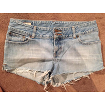 Shorts Abercrombie And Fitch Talla 26 Jeans Mujer