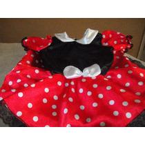 Dulce Minnie Roja,vestido Disfraz. Disfraz De Ensueño