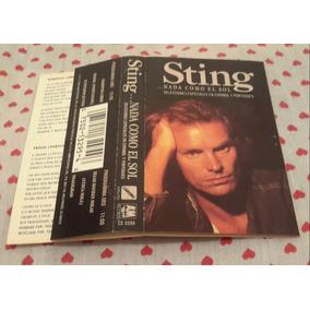 Fita K7 Sting - Nada Como El Sol Importada Chrome