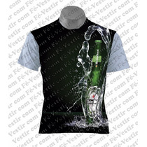 Camiseta Personalizada - Cerveja Heineken