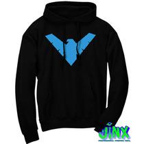 Sudadera Nightwing Dick Grayson Ala Nocturna Batman!!