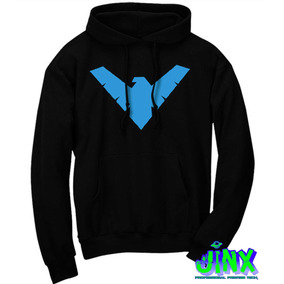 Sudadera Nightwing Dick Grayson Ala Nocturna Batman!!