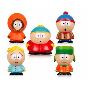 5 Miniaturas South Park Cartman Kenny Stan Kyle Butters