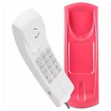 Telefone Com Fio Gôndola Intelbras Tc20 Ártico E Lilas
