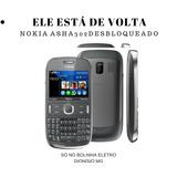 Celular Nokia Asha 302 Desbloqueado 3g Vitrine