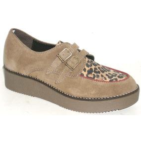 Zapatos Creepers Cuero Vacuno Zuca Outlet Liquidacion