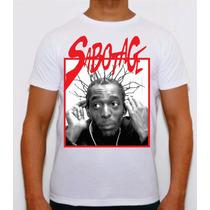 Camisa Rap Nacional Sabotage E Choraoc Cbjr Eternos Plt