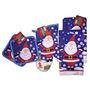 Decoración Navidad Santa Claus De 5 Piezas De Toallas De Co