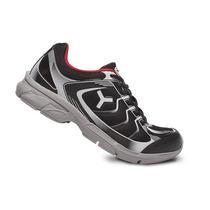 Zapatillas Tryon Modelo Linear Negro/gris/rojo 623002