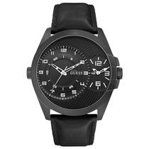 Relógio Masculino Guess, Pulseira De Couro - 92570gpgtpc2
