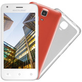 Ms45 Colors Quad Core 8gb 5mp Tela 4,5 Dual Chip Branco Novo