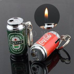 Encendedores Llavero Cocacola, Heineken, 6 Pzas Envio Gratis
