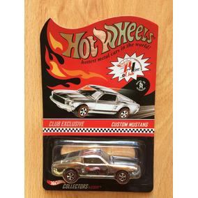 Hot Wheels Exclusivo Redline Club Custom Mustang 68 2002 .