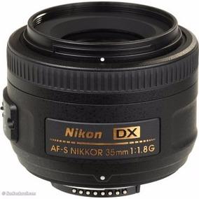 Lente Nikon 35mm F/1.8g Af-s Dx + Filtro Uv | Envío Gratis