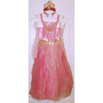 Disfraz Princesa Aurora Original Disney Corona Inlcuida