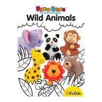 Brinquedo Popbo Blocs Animais Da Floresta Zoológico Ks Kids