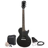 Gibson Maestro Diseño Simple Guitarra Eléctrica, Ébano, Con