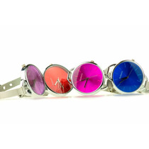 Lote 10 Relojes De Mano Modelo Womage Jewel 6 Colores