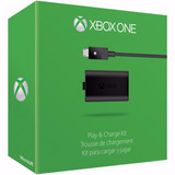 Kit Play&charge Xbox One-original Microsoft. Gtia Oficial