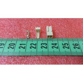 Conector Polarizado 2 Pines Rectos Incluye Pin Metalico