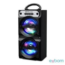 Caixa De Som 2.0 Bluetooth 10watts Aux /sd/usb/fm Cs-m261bt