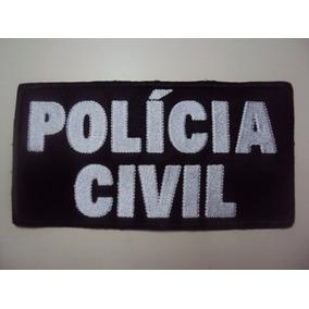 Bordado Policia Civil