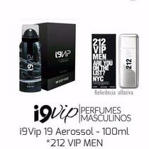 Perfume Masculino 212 Vip Men 100 Ml - I9 Vip