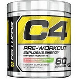 C4 G4 New Formula (60 Serv.) Pre Entrenamiento Cellucor