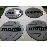 Calcos Resinados Para Centro De Llanta Momo 49mm