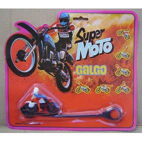 Super Moto Galgo En Su Blister Años 80´s Retro