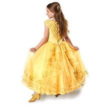 Disfraz Edicion Lujo Disney Store Vestido Bella Y La Bestia