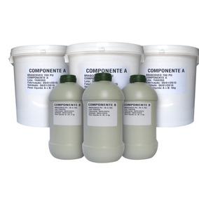 2 Baldes 4,6kg Cola Epoxi P/ Telha Sanduiche, Metal E Isopor