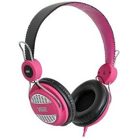 Fone Headset Rash Pink Para Celular Com Microfone - Vinik