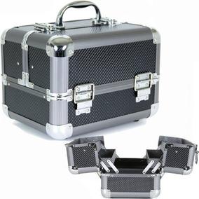Maquillaje De Aluminio De Bucasi Tren Caja Con Forro De