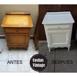 Restaurado Y Reciclado De Muebles A Pedido Cositas Vintage