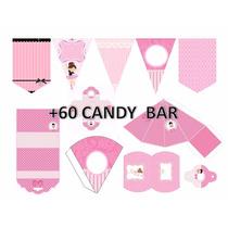 Kit Imprimible Bailarinas / Babyshower Cumpleaños + Regalo