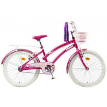 Bicicleta Olmo Rodado 20 Tiny Dancers Rosa Disponible