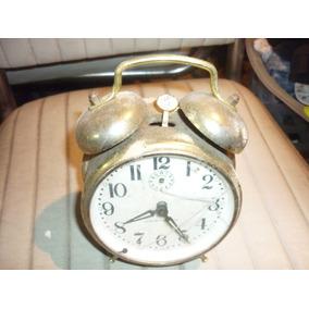 Relógio Antigo Despertador Decoração Vintage Antiguidade