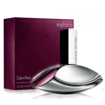 Perfume Ck Euphoria 100ml + Brinde Amostra Eternity Aqua