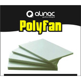 Placa Polyfan Polifan 20mm Esp. Aislante Letras Corporeos