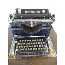 Máquina De Escribir Remington Antigua, Hecha En Lion N.y.